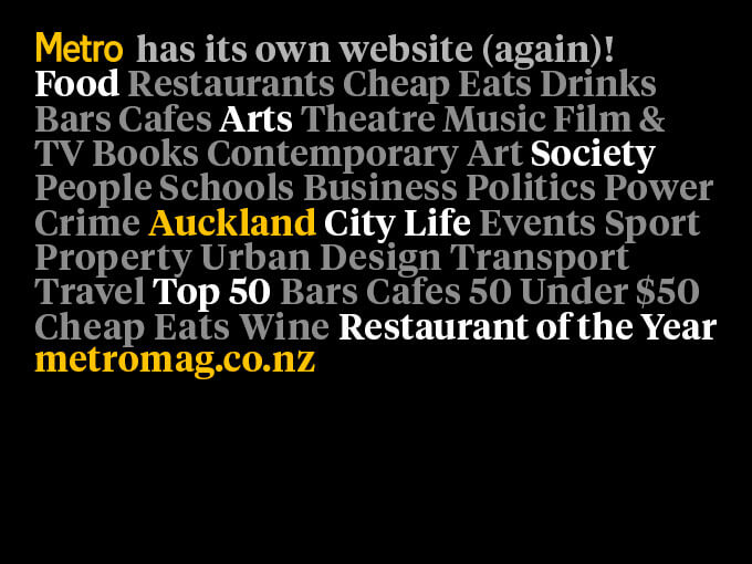 The Auckland Restaurant Month top 20