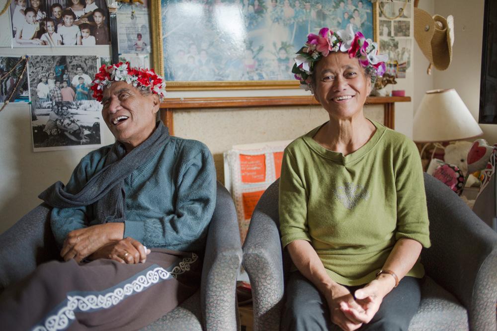 Tere and Mimetua Tarapu