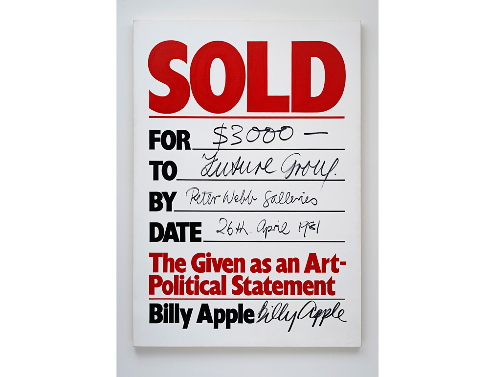 Sold, 1981.