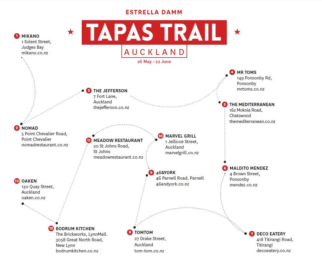 Estrella Damm Tapas trail