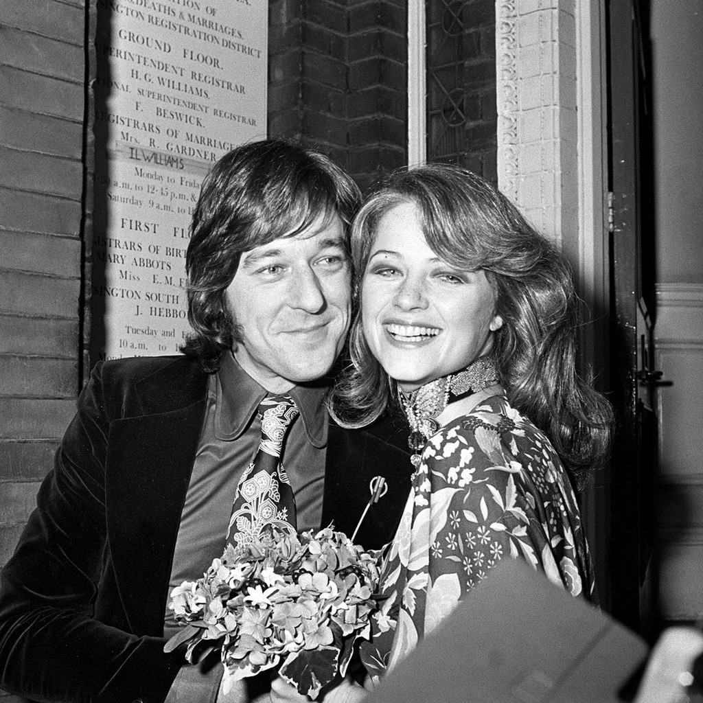 Bryan Southcombe marries Charlotte Rampling in 1972