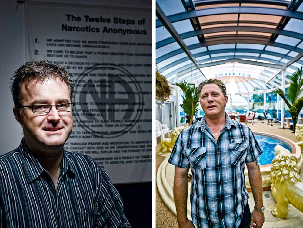 Dale Smith and Aston Smith. Capri Clinic, Auckland