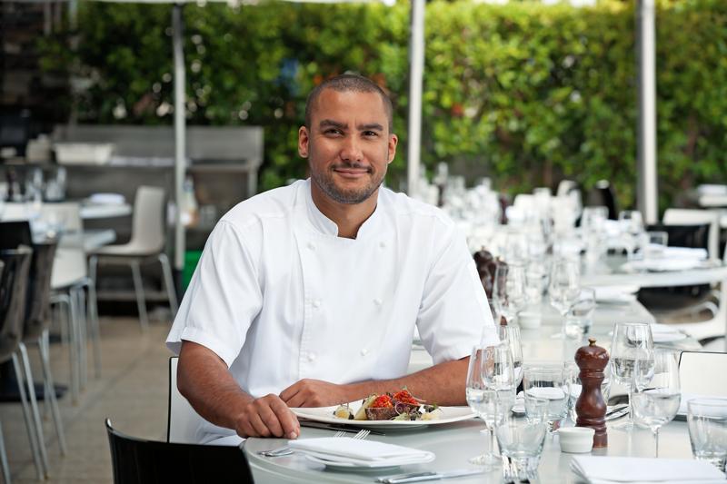 Chef Gareth Stewart at Soul Bar and Bistro, Auckland