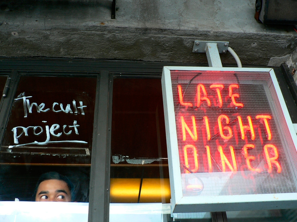 late night diner pop up