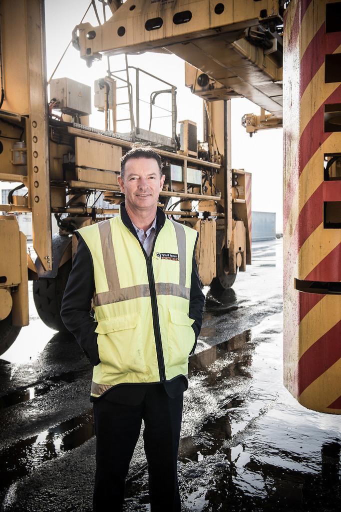 port boss Tony Gibson