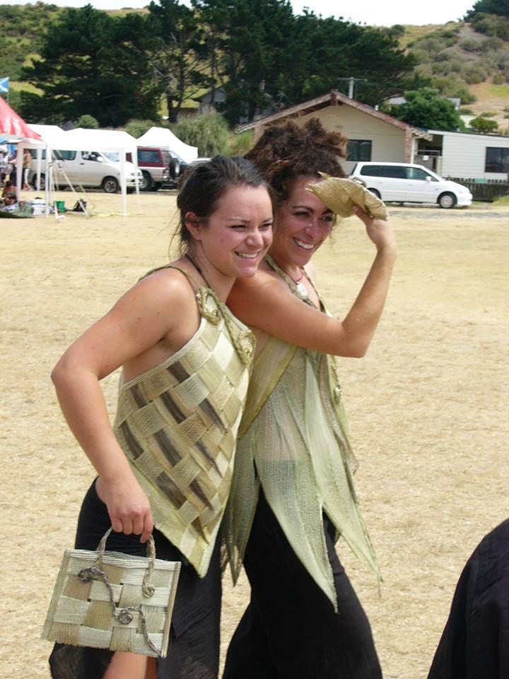 Whetu and Ngahuia danced together at Waikato University back in 2007-9 and this is where they started to make work around the kaupapa o atua wahine and mana wahine.