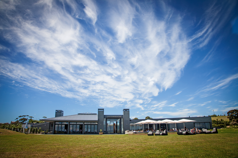 Cable Bay winery and restaurant, Waiheke, Auckland