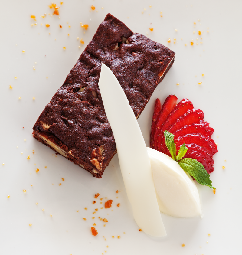 Richmond Larder's brownie