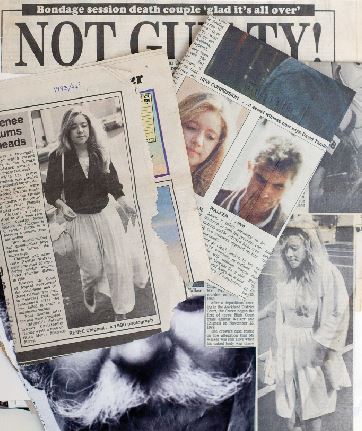 Newspaper and magazine clippings from a scrapbook kept by Renée's mother over the years.