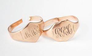 Grandparents' engagement rings