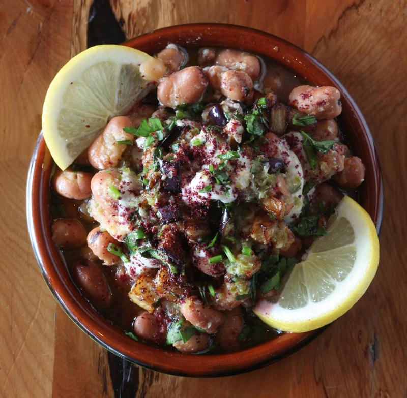 Dish at Petra Shawarma, Auckland