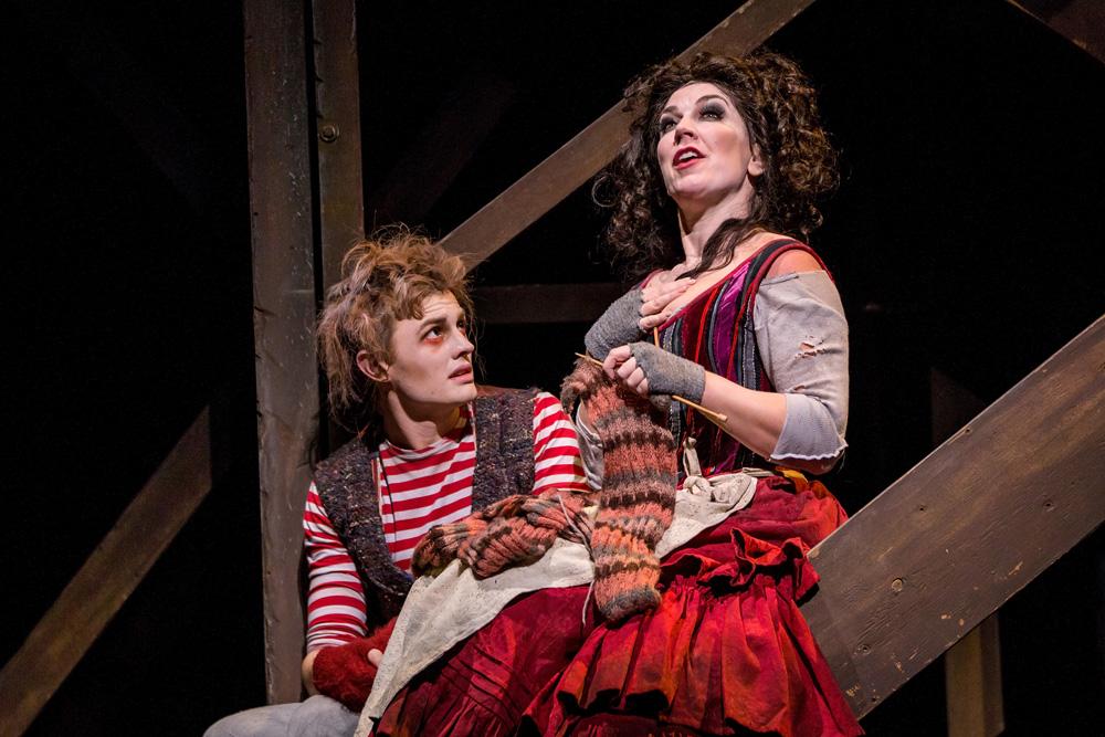 Joel Granger and Antoinette Halloran.