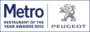 Peugoet Restaurant of the Year Logo