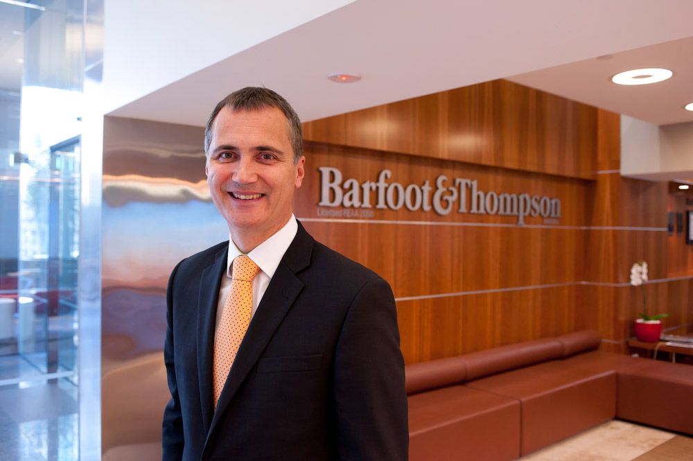 Barfoot and Thompson auction manager Campbell Dunoon