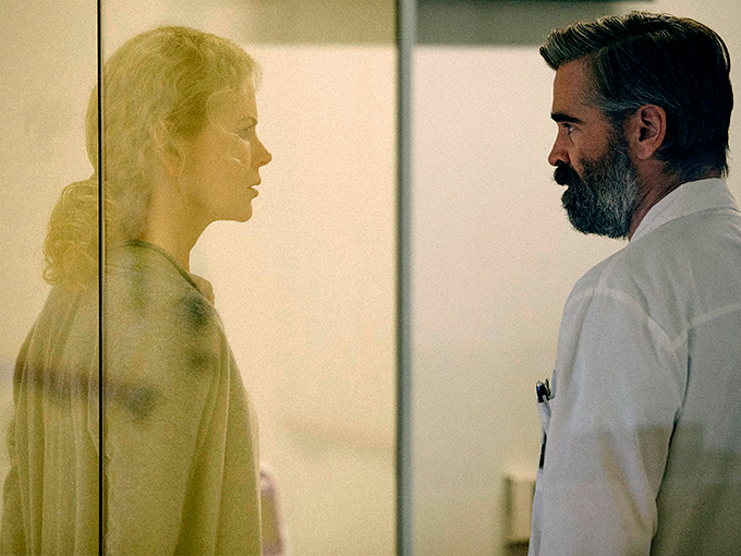 Nicole Kidman and Colin Farrell play husband and wife, but something is off about their relationship.
