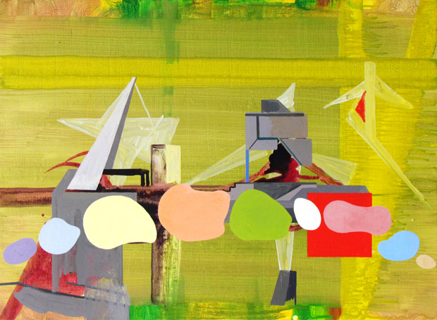 Julian Hooper in Necessary Distraction: a Painting show
