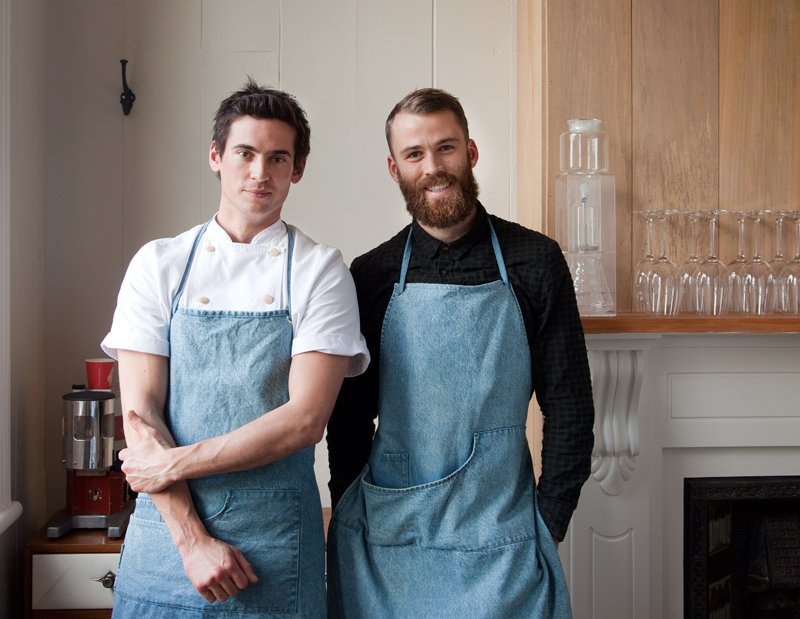 Tom Hishon and Josh Helm of Orphans Kitchen, Auckland