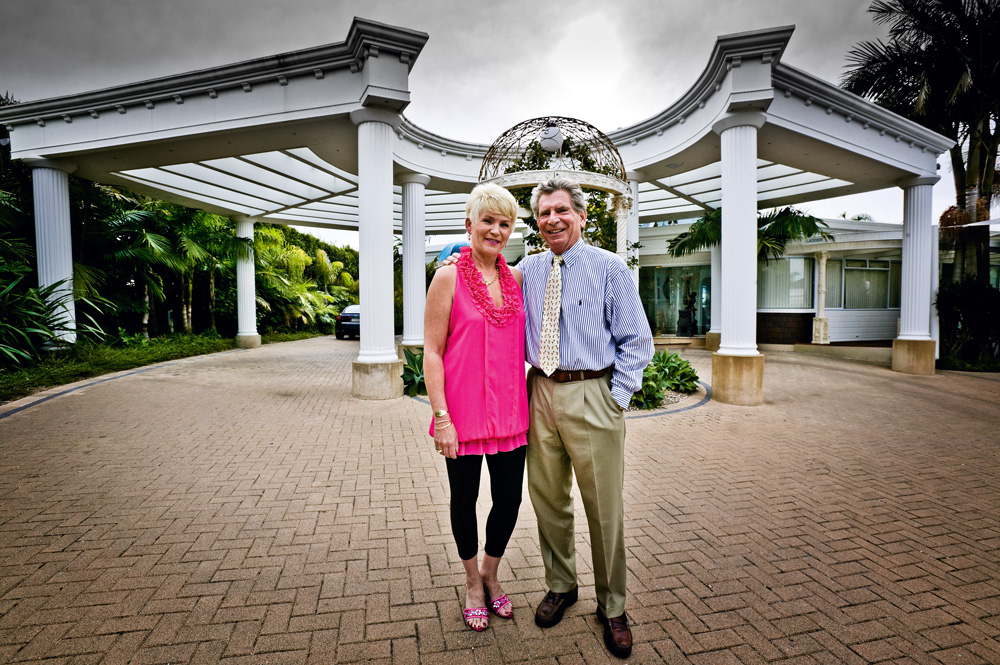 June Venter and Tom Claunch