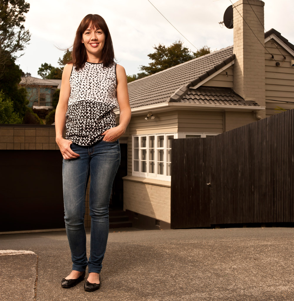Auckland home buyer Jo Hodge