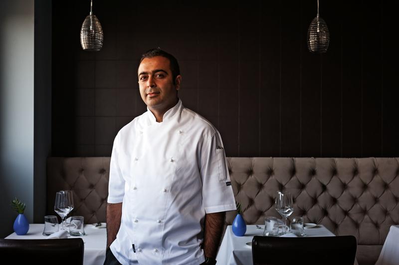 Chef Sid Sahrawat at Sidart restaurant, Auckland