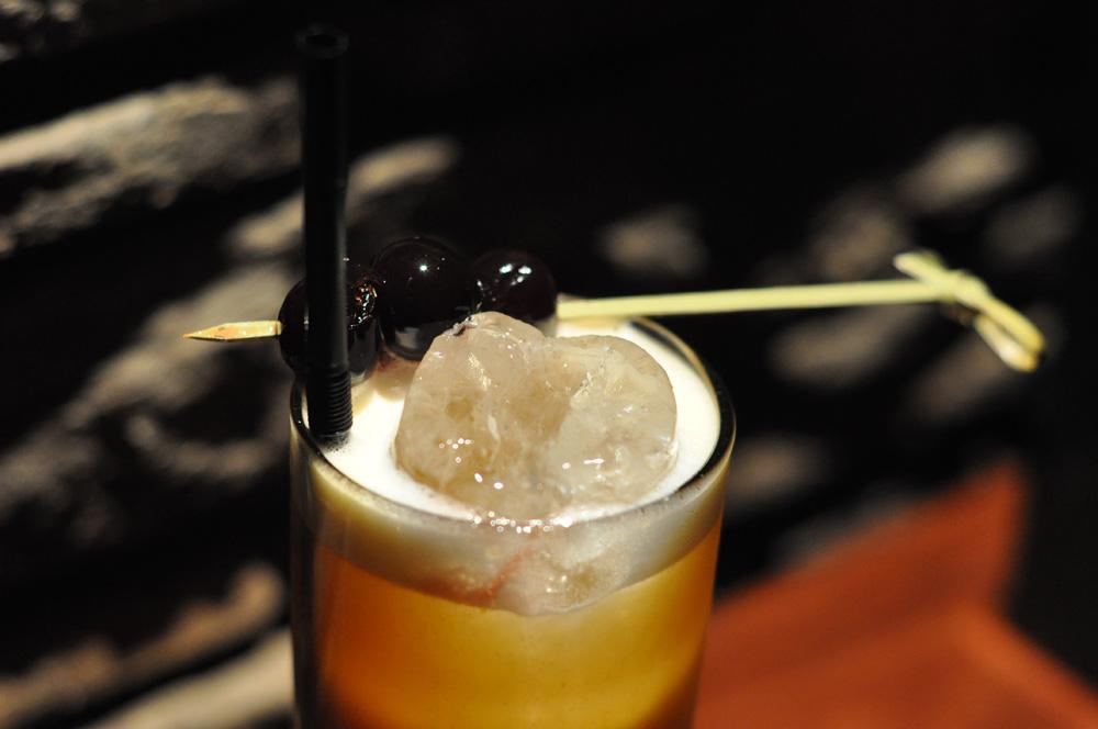Wellington Fizz cocktail at the Hawthorn Lounge, Wellington