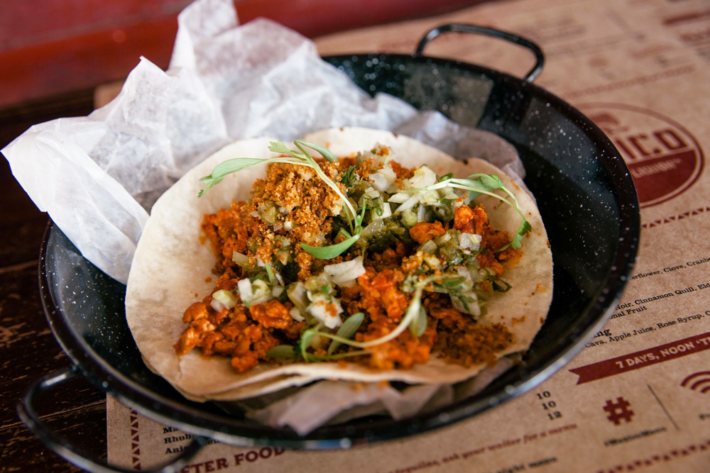 Chicken Taco at Mexico. Photo: Supplied by Mexico.