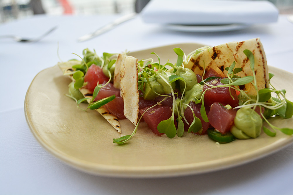 Tuna tartare at Soul Bar and Bistro. Photo: Delaney Mes for Metro. All rights reserved.