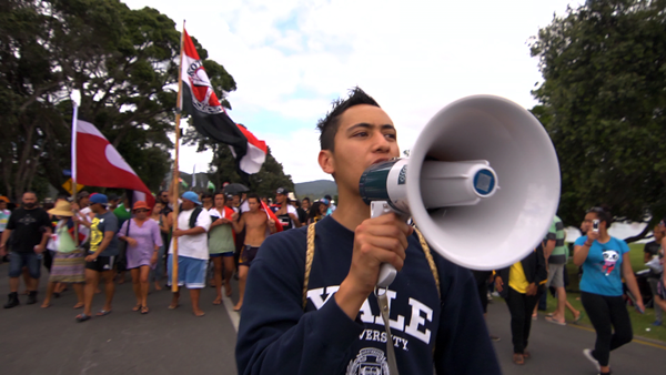 Ngaa-protest-Waitangi