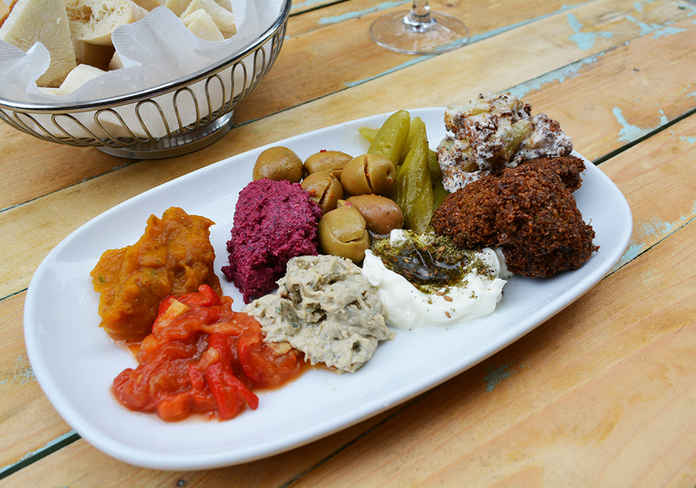 Mezze at Ima. Photo: Delaney Mes for Metro. All rights reserved.