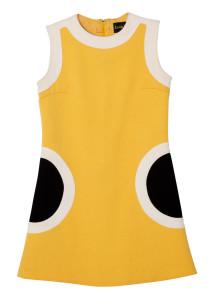 Julia Deans' yellow dress
