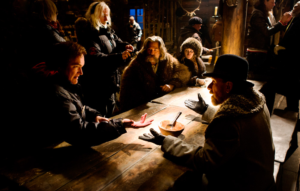 Behind the scenes of The Hateful Eight.