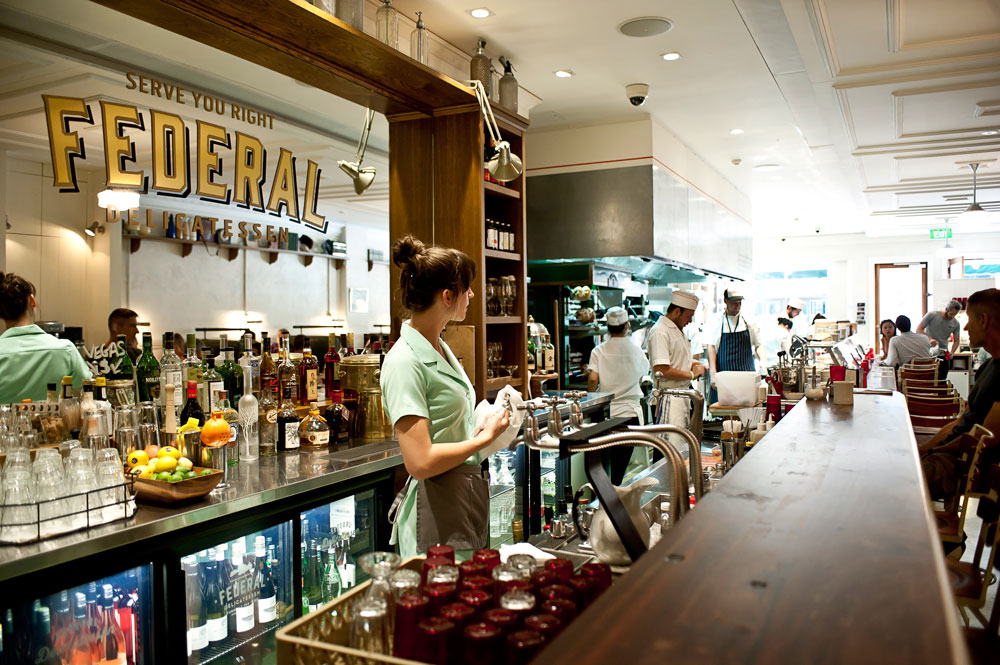 Federal Delicatessen, Auckland. Photo: Simon Young for Metro. All rights reserved.