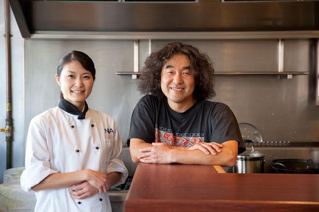 Metro Best Restaurants in Auckland - Ai Uragaki & Hiroshi Miyata at Sake Bar 601