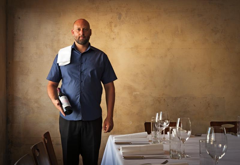 Owner Sven Nielsen at Molten restaurant, Auckland