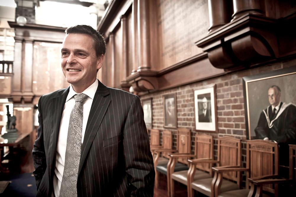 Auckland Grammar headmaster Tim O'Connor