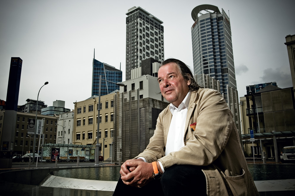 """Will Alsop in Britomart Square: """"Planners and politicians assume that what people want is terribly banal. It's not."""""""