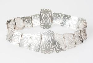Julia Deans' silver belt