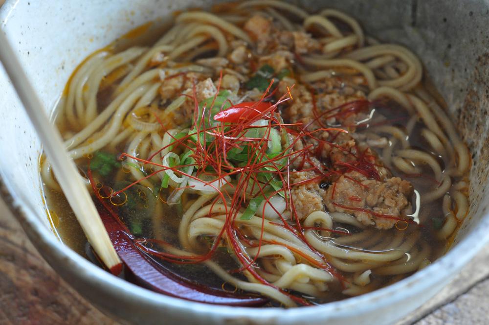 Noodle soup at the Ramen Shop, Wellington