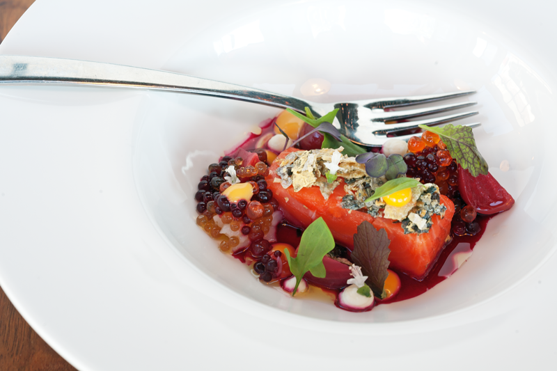 Dish at The Commons restaurant, Auckland