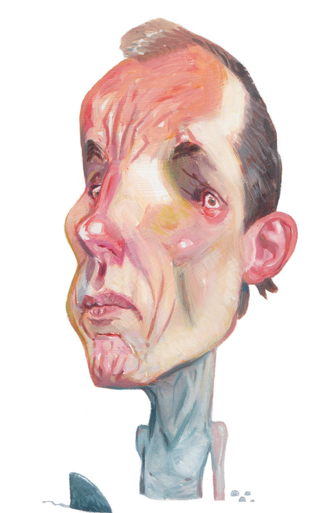 Nicky Hager by Daron Parton