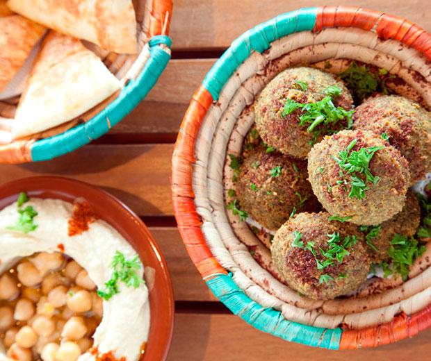 Falafel at Petra Shawarma