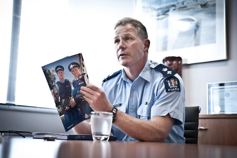 Waitakere police superintendent Bill Searle.