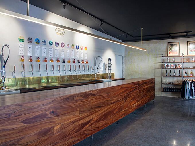 Experimental beer purveyors Garage Project open a cellar door in Kingsland