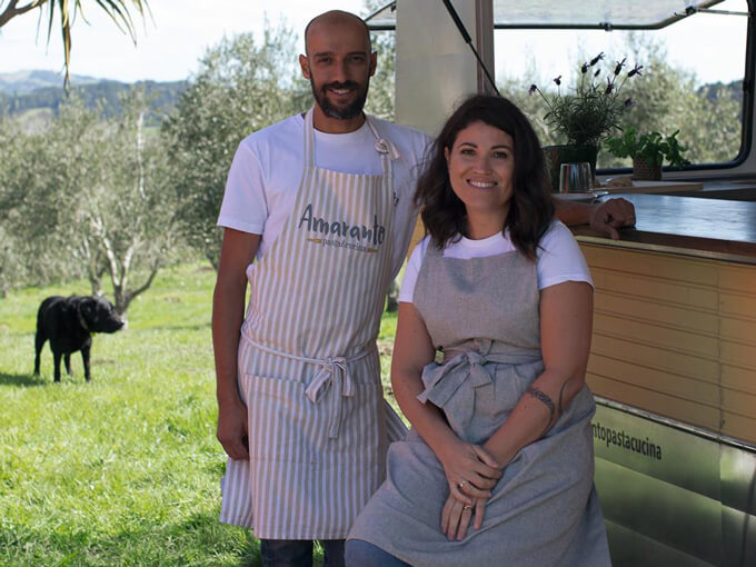 The food truck serving up gluten-free Italian cuisine around Auckland