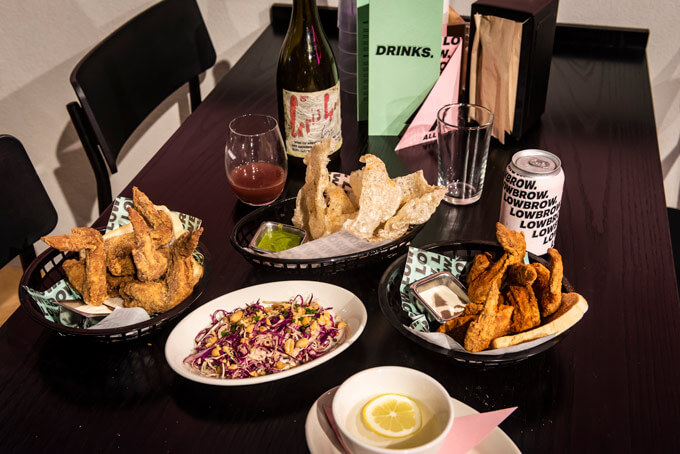 The duo behind Culprit open fast-food-but-good-food restaurant Lowbrow