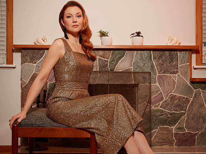 Actress Esther Stephens' love of vintage clothing