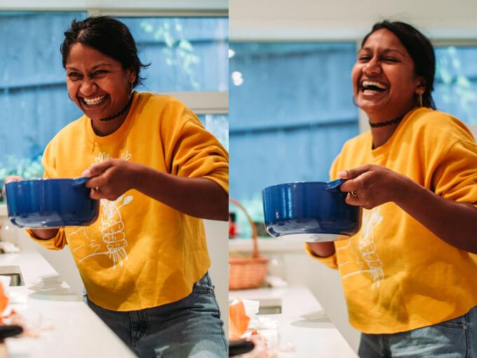What I Ate: Kalyani Nagarajan, star of Mrs Krishnan's Party