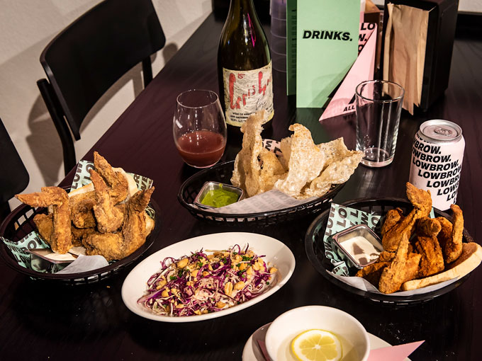 Lowbrow, by the owners of Culprit, serves up deep fried delicious junk food