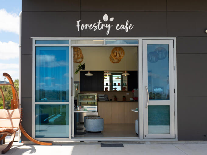 Full of light and art, Forestry Cafe is south-east Auckland's newest coffee spot