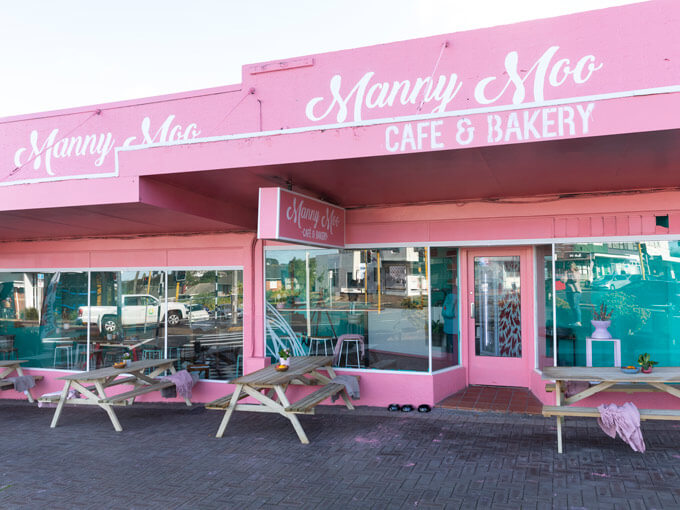 Lively new Belmont cafe Manny Moo is hard to miss